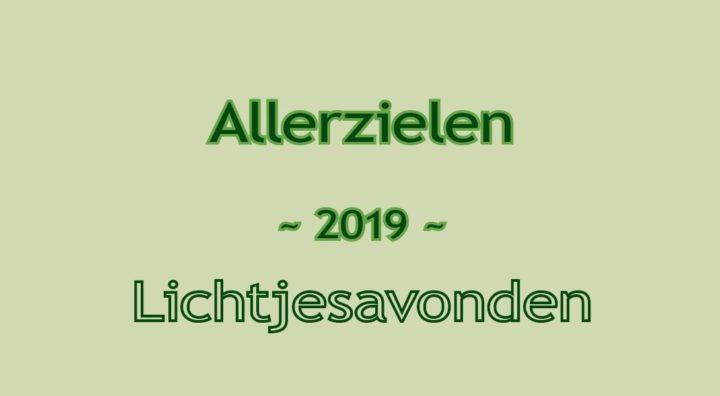 Allerzielen - lichtjesavond 2019