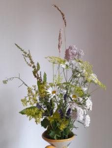 Zelf bloemen plukken in pluktuin
